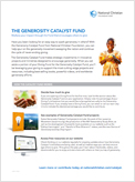 Generosity Catalyst Fund PDF